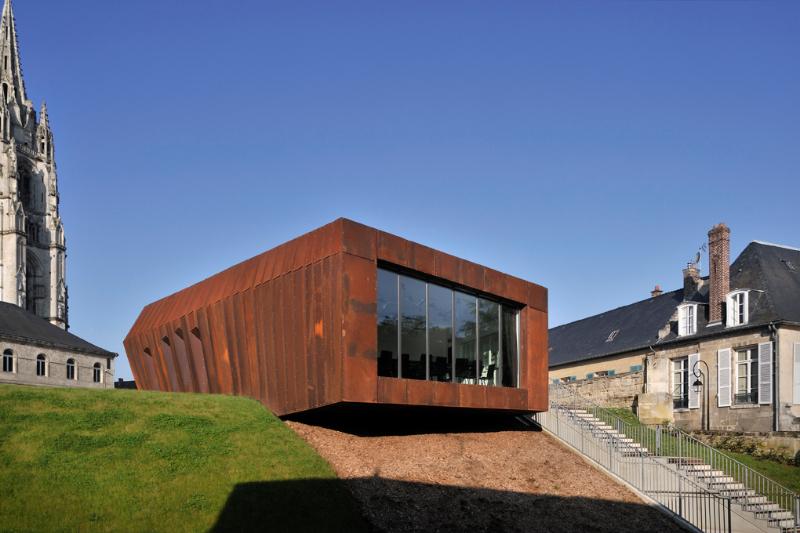 Centre de conservation et d'études archéologiques à Soissons,K-Architectures.