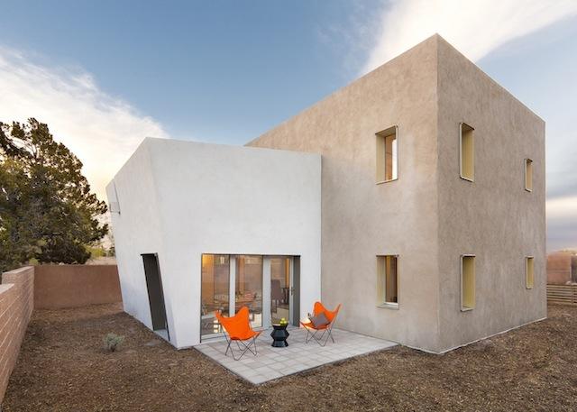 Au nouveau mexique une maison passive sign e mosa - Maison simple aux details rustiques en pologne ...