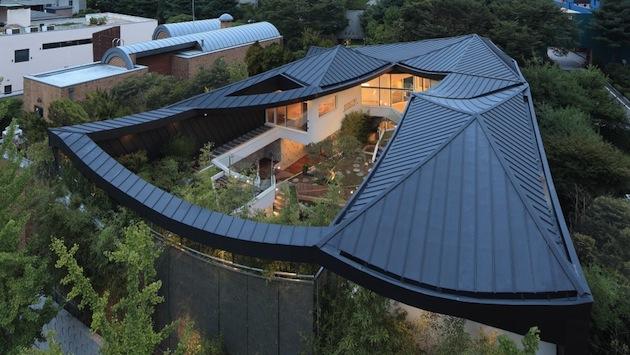 Quand le traditionnel se fait moderne d tails d 39 architecture for Architecture japonaise moderne