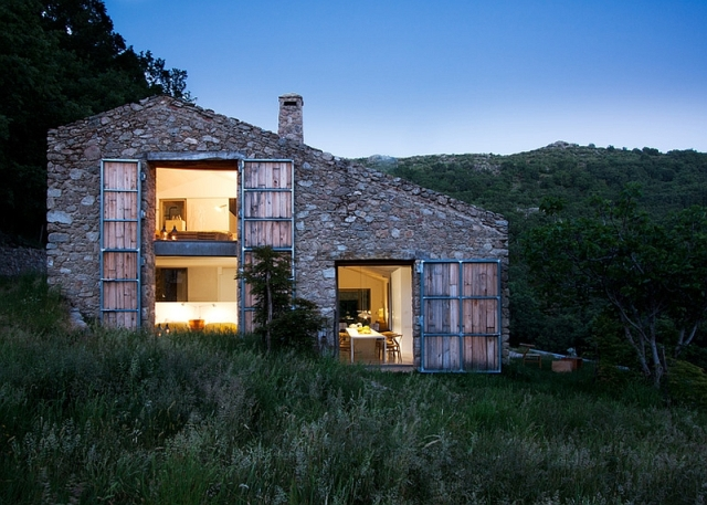 Ferme d tails d 39 architecture for Maison et architecture