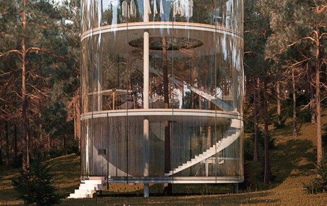 La maison autour de l arbre d tails d 39 architecture for L architecture