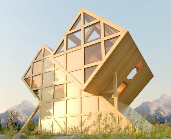 Cabane D Tails D 39 Architecture