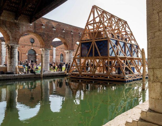 Biennale d architecture de venise d tails d 39 architecture for Architecture venise